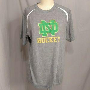 Notre Dame Hockey Lightweight Jersey Long T Shirt